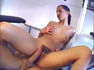 Girl gets massive load after anal