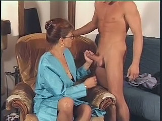 Glasses Handjob Anal Mature Cfnm Handjob French