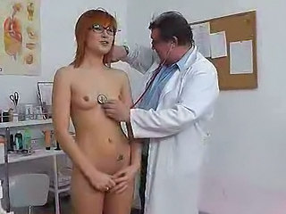Glasses Redhead Skinny Doctor Teen Glasses Teen Skinny Teen