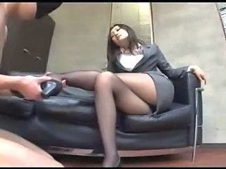 Office Lady In Pantyhose...