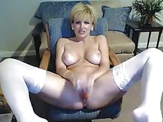 Solo Masturbating Blonde Masturbating Webcam Milf Stockings Stockings