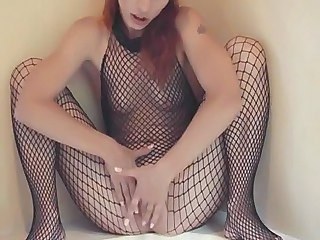 Fishnet Small Tits Amateur Fishnet German Amateur German Milf