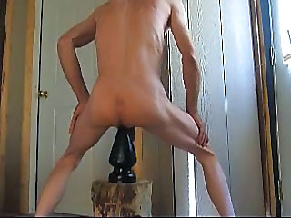 Large Butt Plug Anal Insertion - Gay sex video -