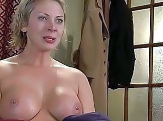 Piercing Blonde MILF