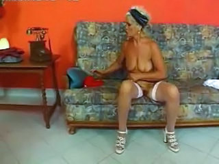 Granny Stockings Blonde Granny Blonde Granny Sex Granny Stockings