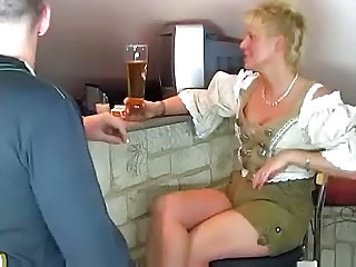 Drunk MILF Blonde