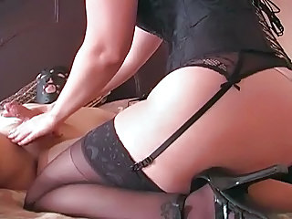 Handjob Stockings Torture Stockings Squirt Orgasm Webcam Blowjob