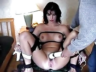 Bondage Toy Brunette Forced Teen Toy Toy Teen