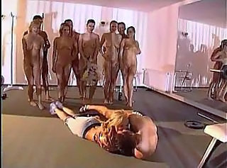 It is hardly possible to describe all this horny crowd doing in gym!
