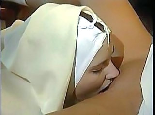 Nun Uniform Licking