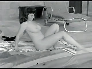 Nudist Vintage Pool Outdoor