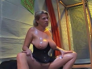 German Piercing Corset Big Tits German Big Tits Mature Big Tits Milf
