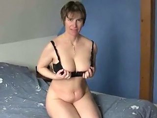 Short haired mature at porn...