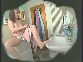 HiddenCam Mom Voyeur Bathroom Mom Bbw Mom Bbw Wife