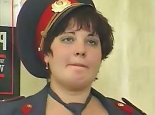 Russian Mature Police Officer