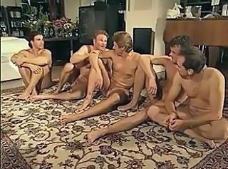 Gay German German Vintage Orgy