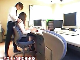 Office Secretary Asian Asian Cumshot Cumshot Ass Cute Asian