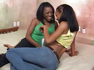 Black Lesbian Beauties, Aleia And Candy
