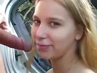 Car Cumshot Outdoor Blowjob Cumshot Blowjob Teen Car Blowjob