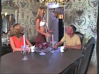 Mom Catches His Daughter Fucking,By Blondelover.