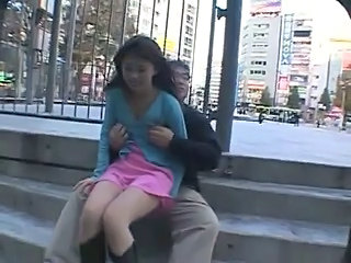 Outdoor Public Asian Asian Teen Japanese Teen Outdoor
