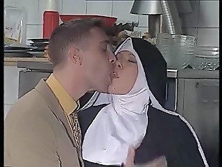 Kissing Kitchen Nun Uniform German Fisting Anal