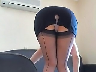 Maid Upskirt Voyeur Maid Ass Milf Ass Milf Stockings