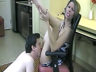 Licking Wife MILF Jerk Wife Milf