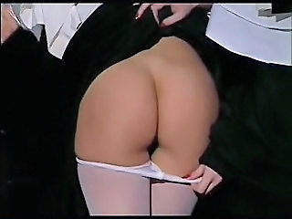 Nun Pantyhose Uniform Ass Pantyhose Crazy Cute Big Tits Outdoor Amateur
