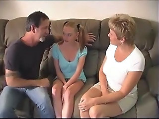 Old And Young Babysitter Pigtail Milf Teen Milf Threesome Old And Young