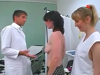 Doctor Threesome MILF Milf Threesome Threesome Milf