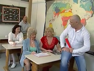 German Teacher European German Mature Group Mature Student Group