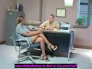 Office Ebony Legs Milf Office Office Milf