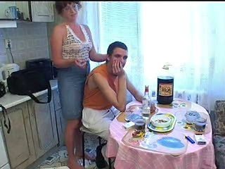 Drunk Old and Young Mom Drunk Mature Kitchen Mature Kitchen Sex