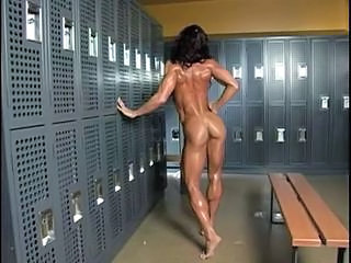 Muscled Amazing Oiled Milf Ass