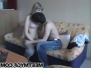 Petite blonde teen fucks boyfriend  Sex Tubes