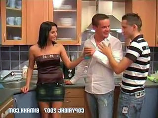 Drunk Kitchen Brunette Drunk Teen Kitchen Sex Kitchen Teen