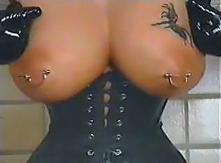 Corset Fetish Nipples Corset Leather