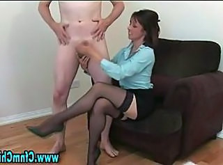 Legs Stockings Cfnm Handjob Handjob Cumshot Milf Stockings