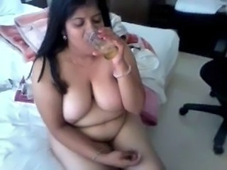 Indian Drunk  Aunt Aunty Big Tits Indian