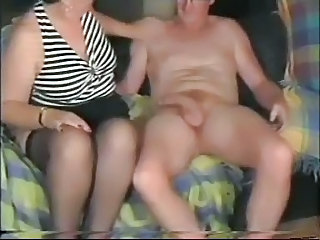 Enjoying sex