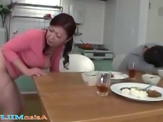 Japanese Asian Kitchen Blowjob Japanese Blowjob Milf Bus + Asian