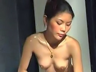 Small Tits Asian MILF Milf Asian Shower Tits