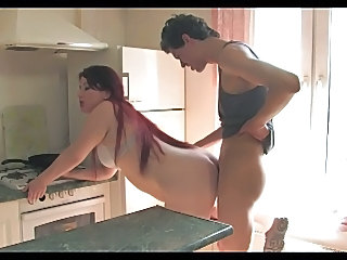 Kitchen Long Hair MILF Amateur Chubby Chubby Amateur Kitchen Sex