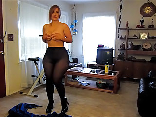 Pantyhose Homemade Amateur Milf Ass Milf Pantyhose