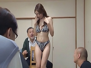 Japanese  Stripper  Forced Japanese Milf