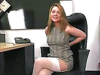 Secretary Amazing Cute Cute Brunette Cute Teen Office Pussy