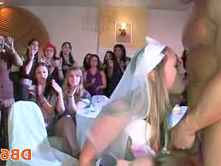 Party  Bride Blowjob Milf Cfnm Blowjob Cfnm Party