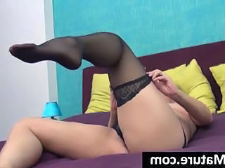 Dirty Milf Gets Undressed Slowly And Plays With Herself Until She Cums