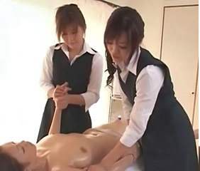 Japanese girls massage260
